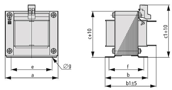 DEK Grafik - Einphasen-Kommutierungsdrossel