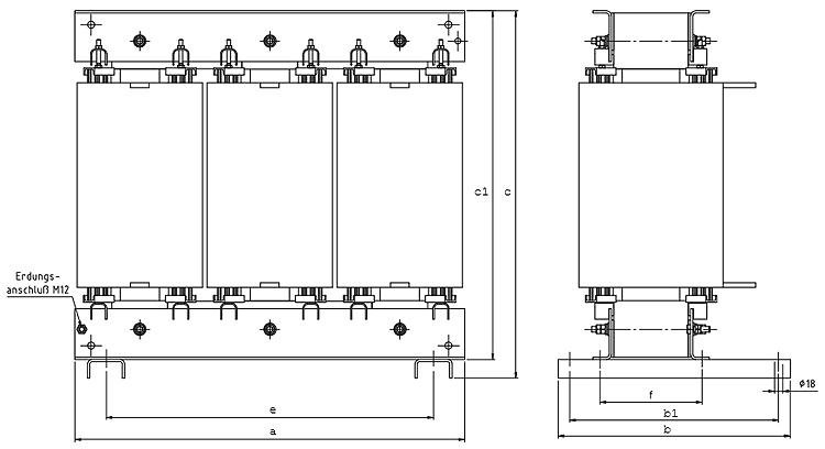 DTF Grafik 2 - Dreiphasen-Transformatoren