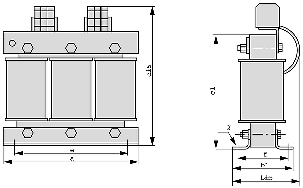 DTFSP Grafik - Dreiphasen-Spartransformator