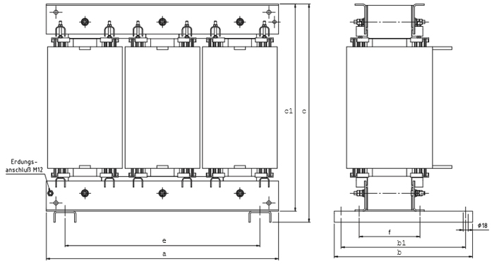 DTFSP Grafik 2 - Dreiphasen-Spartransformator