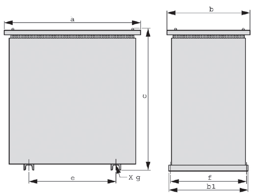 IP23 Grafik 3 - Stahlblechschutzgehäuse