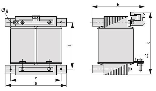 STZ Grafik 2 - Einphasen-Steuer-Trenn-/Sicherheitstransformator