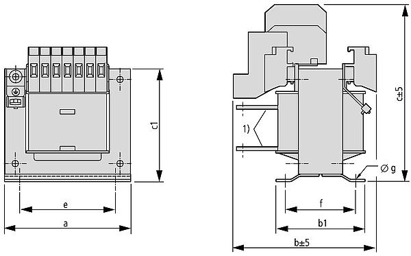 STN Grafik - Einphasen-Steuertransformator