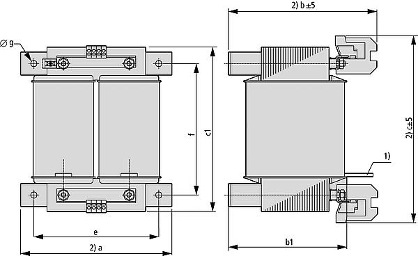 STN Grafik 2 - Einphasen-Steuertransformator