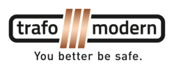Trafomodern_Logo_Claim_2015_rgb_transparent / Zum Vergrößern auf das Bild klicken